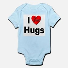 I Love Hugs Infant Creeper