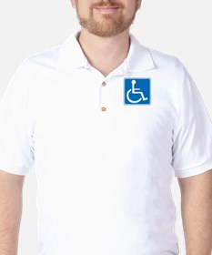 Handicapped Sign T-Shirt