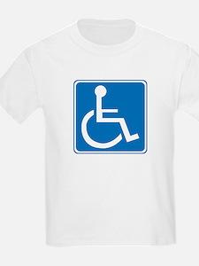 Handicapped Sign T-Shirt