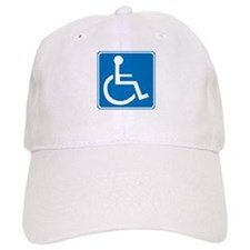 Handicapped Sign Baseball Cap