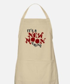 A New Moon Thing BBQ Apron