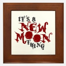 A New Moon Thing Framed Tile