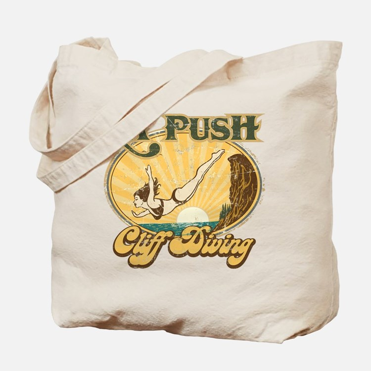 La Push Cliff Diving Tote Bag