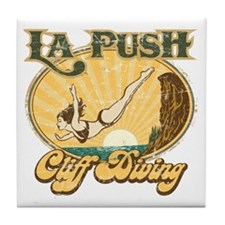 La Push Cliff Diving Tile Coaster