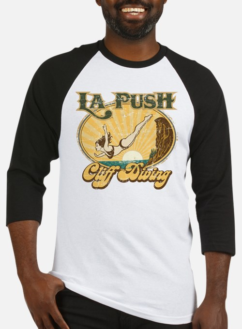 La Push Cliff Diving Baseball Jersey