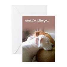 Boo Love Greeting Card