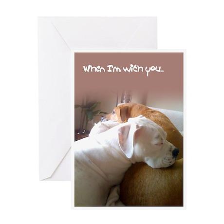 Boo Love Greeting Card