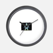 Funny Linux penguin Wall Clock