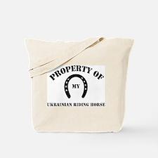 My Ukrainian Riding Horse Tote Bag