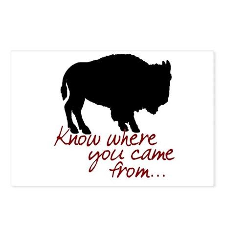 Know where you came from Postcards (Package of 8)