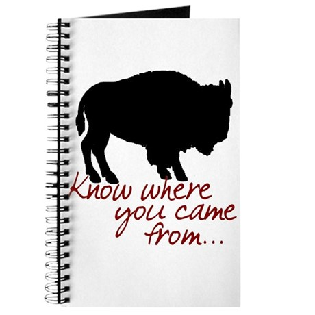 Know where you came from Journal