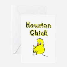 Houston Chick Greeting Card