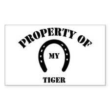 My Tiger Rectangle Decal