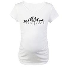 Team Jacob Werewolf Evolution Maternity T-Shirt