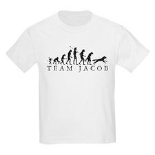 Team Jacob Werewolf Evolution T-Shirt
