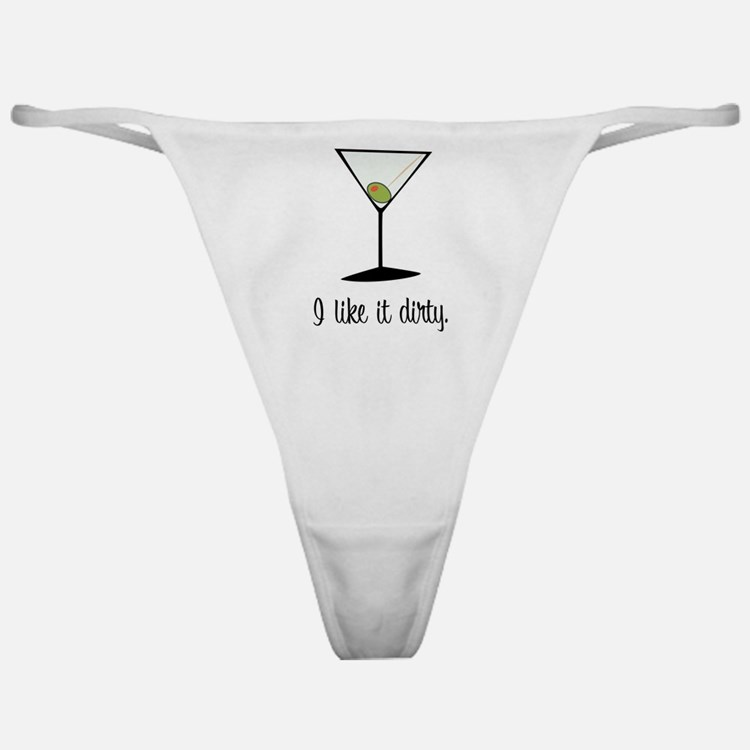 dirty martini Classic Thong
