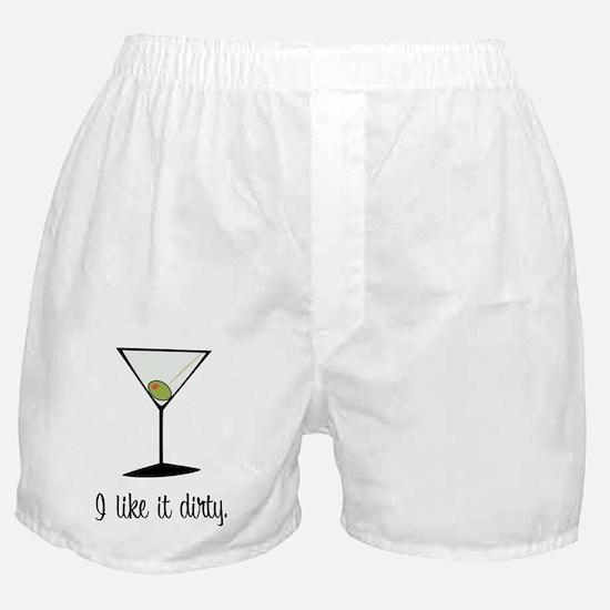 dirty martini Boxer Shorts