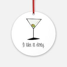 dirty martini Ornament (Round)