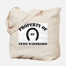 My Swiss Warmblood Tote Bag