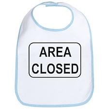 Area Closed Sign Bib