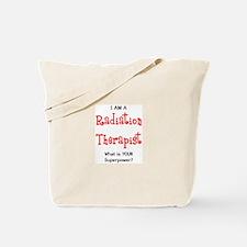 radiation therapist Tote Bag