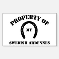 My Swedish Ardennes Rectangle Decal