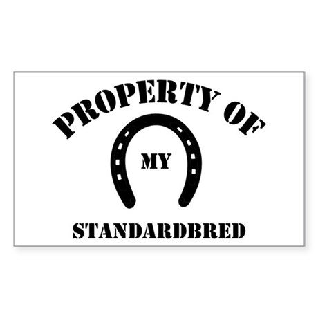 My Standardbred Rectangle Sticker