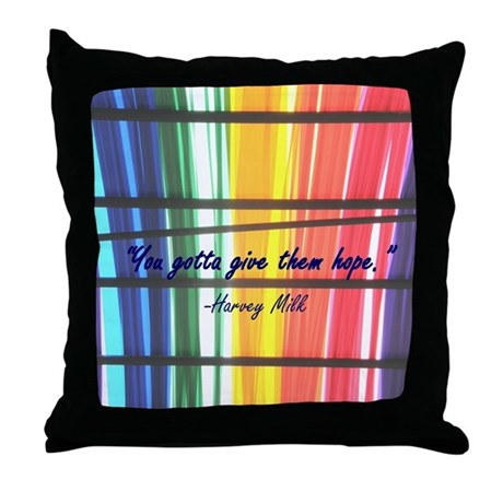 Give Them Hope Throw Pillow