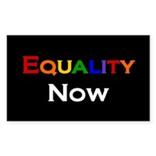 Equality Now Rectangle Decal