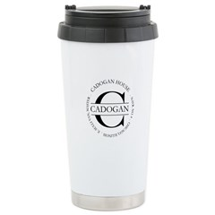 Stainless Steel Travel Mug with Official Cadogan s
