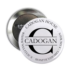 """2.25"""" Button with official Cadogan House seal"""