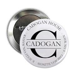 "2.25"" Button with Official Cadogan seal (10 p"