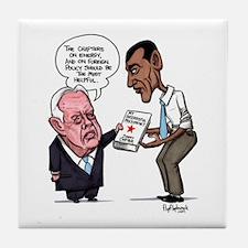 Obam/Carter Presidency Tile Coaster