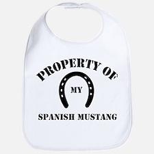 My Spanish Mustang Bib