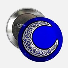 The Celtic Moon Button
