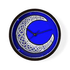 The Celtic Moon Wall Clock