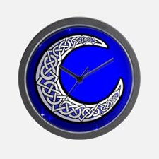 The Celtic Moon Wall Clock