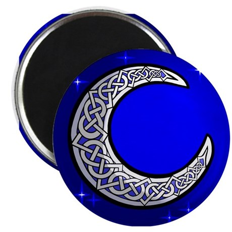 The Celtic Moon Magnet