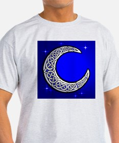 The Celtic Moon Ash Grey T-Shirt