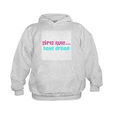 Girls Rule Hoodie