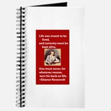 Eleanor Roosevelt 1 Journal