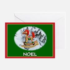 Noel, Christmas Greeting Card
