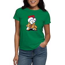Christmas Teddy Bear Westie Tee