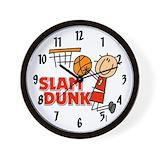 Slam dunk clock Wall Clocks