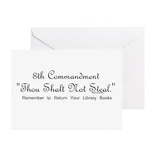 8th Commandment: Thou Shalt N Greeting Cards (Pack