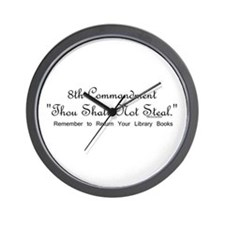 8th Commandment: Thou Shalt N Wall Clock