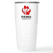 PAWS Logo Travel Mug