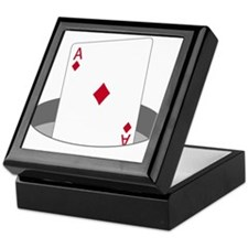 Ace In The Hole Keepsake Box