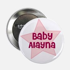 """Baby Alayna 2.25"""" Button (10 pack)"""