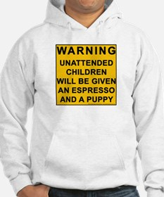 If you can't beat em, scare em. Hoodie